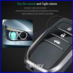 12V Car Keyless Entry One-button Engine Start Alarm System Remote Starter Stop