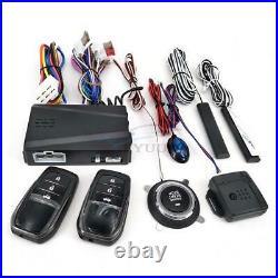 12V Car SUV Alarm System One-button Start System Remote Starter Stop Universal