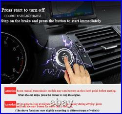 12V Car SUV Keyless Entry Engine Start Alarm System Push Button Remote Starter