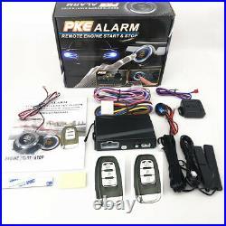 12V Start Push Button Remote Starter Keyless Entry Car SUV Engine Alarm System