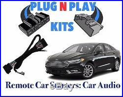 2014 2015 2016 Ford Fusion 100% Plug & Play Car Starter Remote Start With Menu