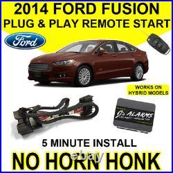 2014 Ford Fusion Remote Start Car Starter Plug & Play Hybrid & Gas Easy DIY FO2N