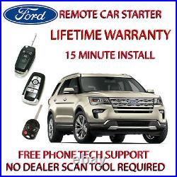 2016, 2017, 2018 Ford Explorer, Plug in Remote starter 15 minute install
