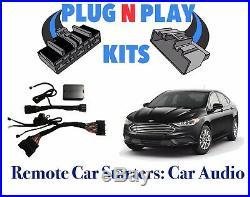 2017 -19 Fusion 100% Plug & Play Car Starter Remote Start Includes Light Plug