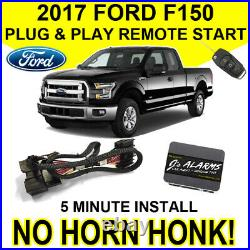 2017 Ford F-150 Remote Start Plug & Play Install F150 No Horn Honk Starter FO2N