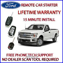 2017 Ford F150 Plug & Play Remote Starter includes parking light harness