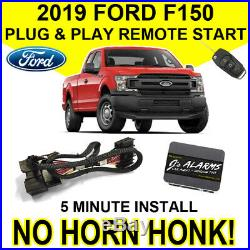 2019 Ford F-150 Remote Start Plug & Play Install F150 No Horn Honk Starter FO2N