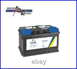 Autobatterie 80ah / 740 A / 12v Powerblock Wartungsfrei Sofort Einsatzbereit