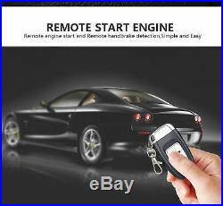 Car Engine Button Push Start Lock Ignition Starter Alarm Systems Keyless Entry
