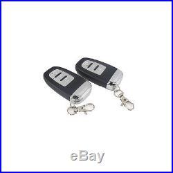 Car Ignition Button Starter Security System Kit Sound&Light Alarm Remote Control