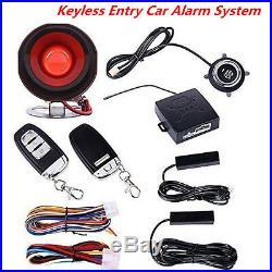 Car SUV Alarm System Keyless Entry Push Button Start Remote Engine Start Starter
