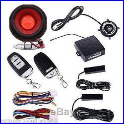 Car Truck Alarm System PKE Passive Keyless Entry Remote Auto Starter Push Button