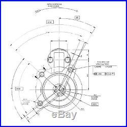 FORD ESCORT 1.6/1.8/2.0 RS TURBO/COSWORTH XR3i RS2000 MK3-MK6 STARTER MOTOR
