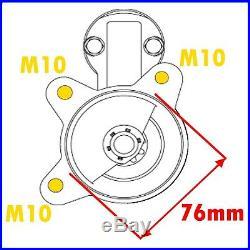 FORD FIESTA 1.6/1.8 XR2/XR2i/RS/TURBO MK1, MK2 MK3, 1981-1996 NEW STARTER MOTOR
