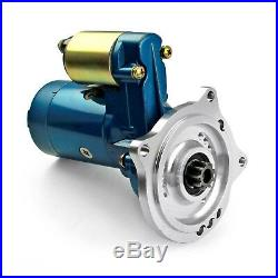 Fits Ford Fe 390 428 3 Bolt Automatic Mini Muscle 4Hp Starter Motor Blue