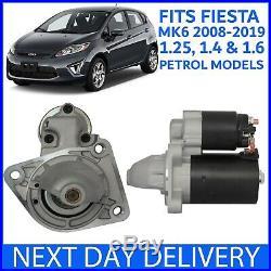Fits Ford Fiesta Mk6 Mk7 1.25 1.4 1.6 Petrol 2008-2017 Brand New Starter Motor