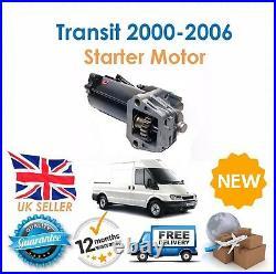 For Ford Transit MK6 2.0 2.4 TDCi Diesel 2000-2006 Starter Motor New