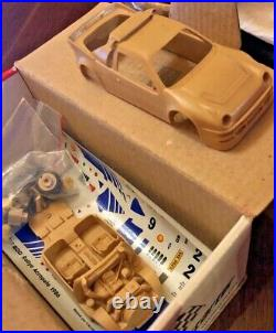 Ford RS200 1986 Acropolis Rally 1/43 Die-Cast Resin Model Car Kit by Starter