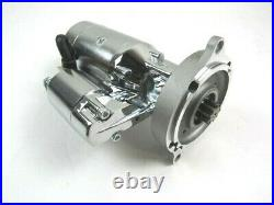 Ford SBF, BBF, FE 260-460 High Torque Starter 3HP Auto Trans Chrome D32208C