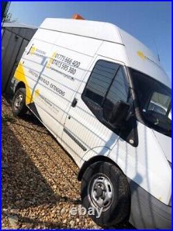 Ford Transit 100 T350 M RWD 2.4 work Van MOT new starter & Tyres Collection PE11