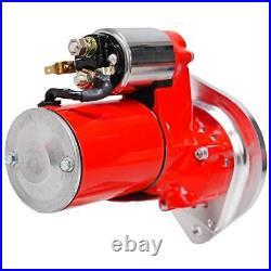 MSD Starter Motor 5090 DynaForce Red 3.0hp Hitachi for Ford 289/302/351W SBF