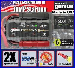 NOCO GB70 Boost Pack Jump Starter- BMW, Ford, Mercedes, Citroen, Volvo, Fiat