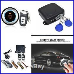 New Auto Alarm Car Keyless Entry Engine Start Push Button Remote Starter 8pcs