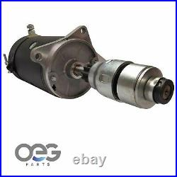 New Starter For 6 Volt Gas Ford & New Holland Tractors 1954-1963, Includes Drive