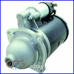 New Starter For Ford Holland Tractor Diesel Skid Steer M50 Two Stage Solenoid