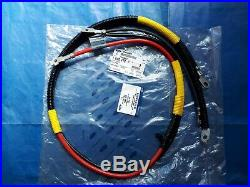New genuine Ford Escort Mk3 Mk4 RS Battery to Starter Motor & Earth cable loom