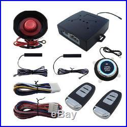 Newly SUV Alarm System Keyless Entry Engine Ignition Push Starter Button Kit