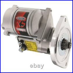 Powermaster Starter 9504 XS Torque Satin 2-Hole for Ford 289/302/351W SBF, 351C