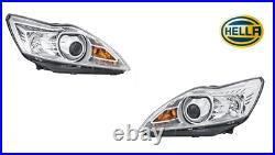 SET Hella Bi-Xenon Hauptscheinwerfer FORD FOCUS II Cabrio DA HCP DP DB FCH DH