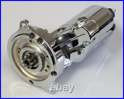 Sbf Ford Extreme Duty Chrome Starter Fits 302 & 351w 351c Fe Windsor Cleveland