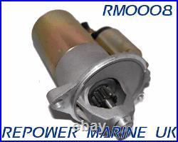 Starter Motor for Ford 5.0L & 5.8L V8 Volvo Penta, OMC, 3854190 302, 351