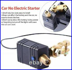 Universal 12v Car Battery Power Retainer Keeper No Electric Starter Power Saver