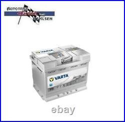 Varta Silver Dynamic Start/stop Autobatterie 60ah / 12v / Agm Batterie